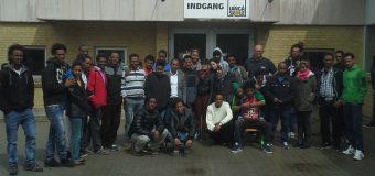 Indsamling af skolemøbler til Eritrea.