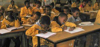 Skolebesøg i Eritrea januar 2019.